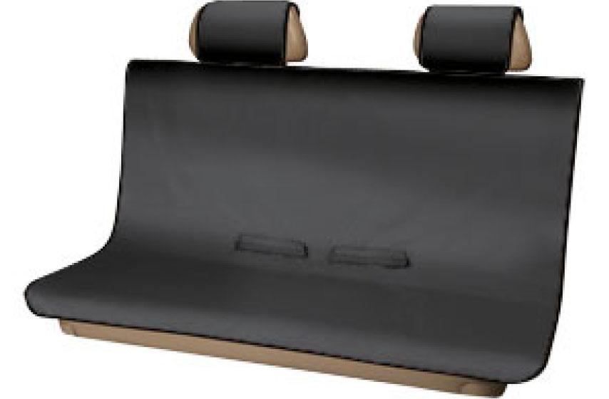Protectores de asiento trasero\ color negro
