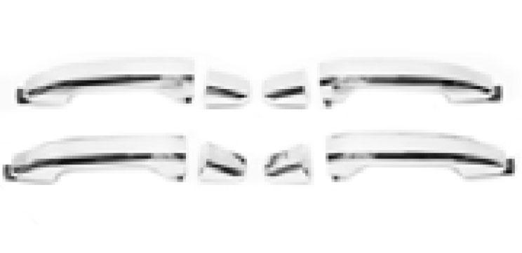 Manijas cromadas frontales (Cabina Regular)