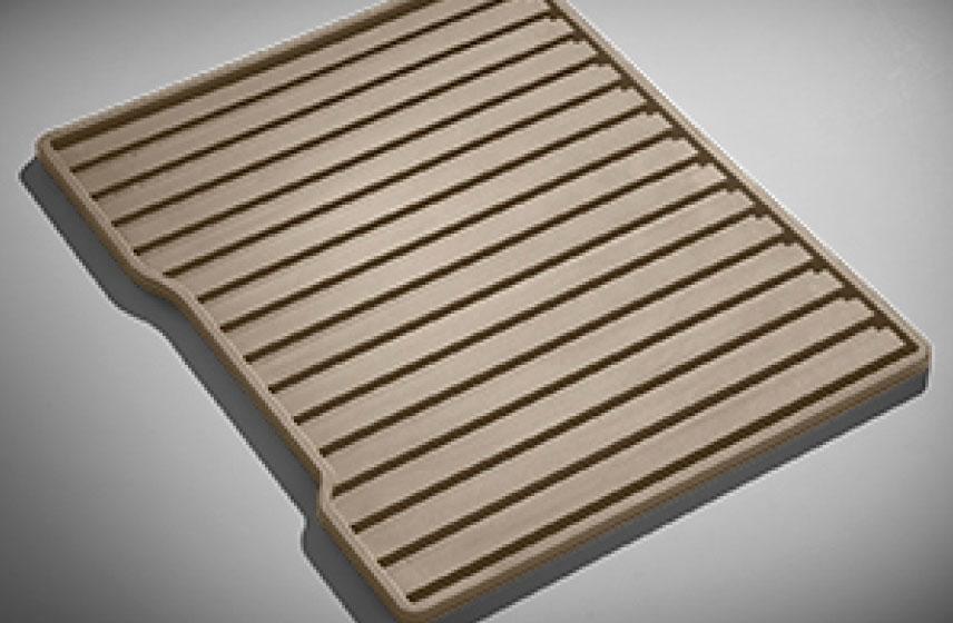 Tapete de vinil de paso\segunda fila sin logo (1 pieza) arena