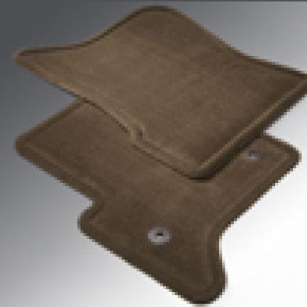 Tapetes frontales de alfombra - Color cocoa