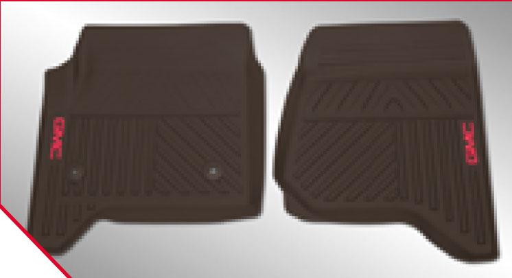 Tapetes de vinil delanteros - Premium Cocoa