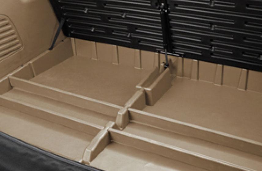 Organizador de carga\ color arena