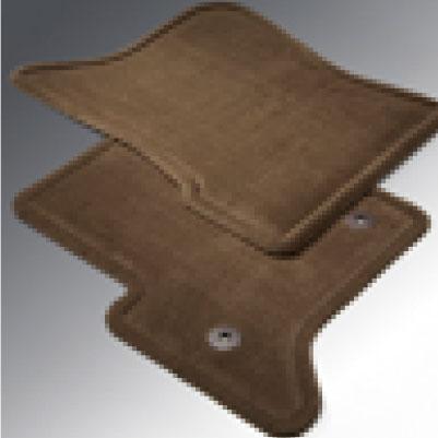 Tapetes de alfombra - Negro