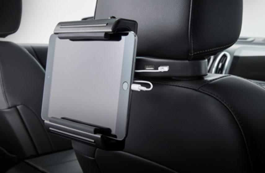 Porta tablet con puertos USB