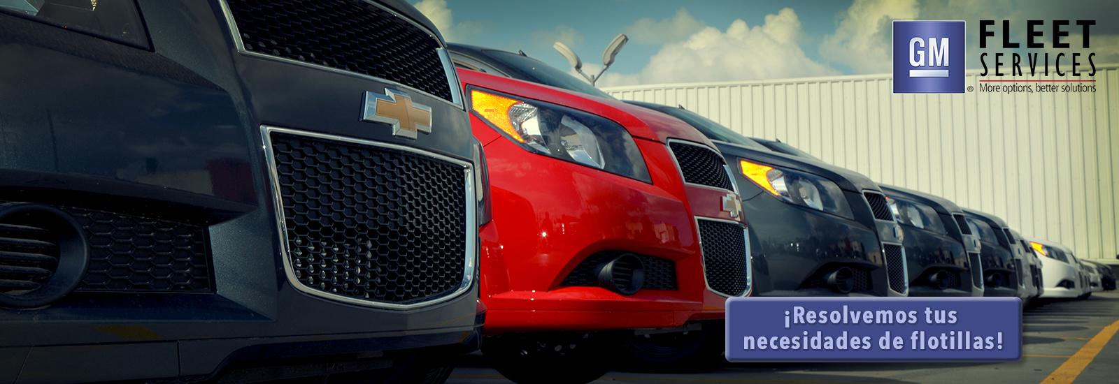 Arrendamiento de Autos Chevrolet - Flotillas Chevrolet